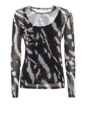 Max Mara: blouses - Helga sheer blouse