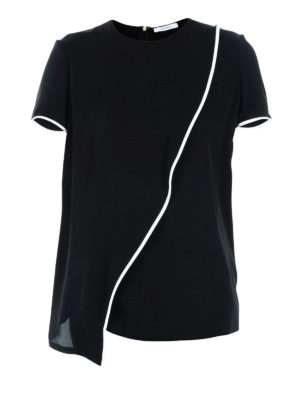 Max Mara: blouses - Legenda black silk blouse