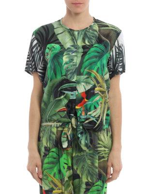 Max Mara: blouses online - Afro tropical print blouse