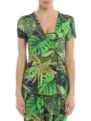 Max Mara: blouses online - Cannes tropical print blouse