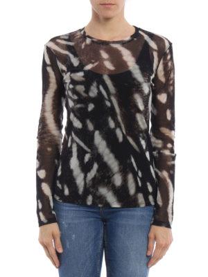 Max Mara: blouses online - Helga sheer blouse