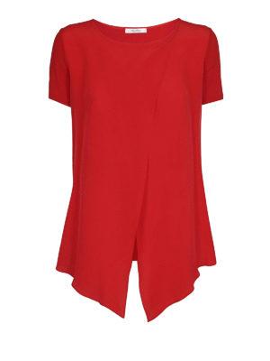 Max Mara: bluse - Blusa in crepe e jersey Orma