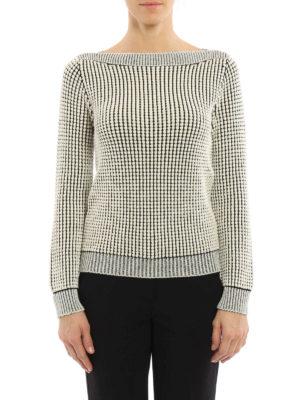 Max Mara: boat necks online - Nasello cotton blend sweater