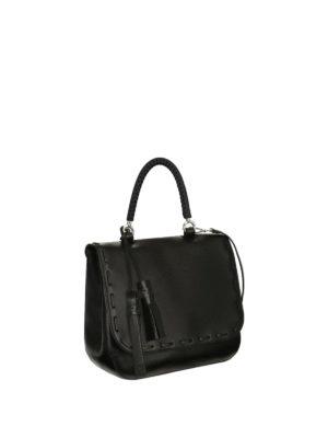 Max Mara: bowling bags online - Bobag single handle leather bag