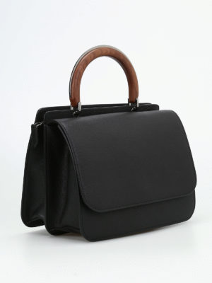 Max Mara: bowling bags online - Top Handle roomy hand bag