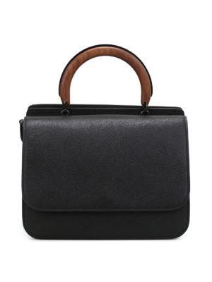 Max Mara: bowling bags - Top Handle roomy hand bag