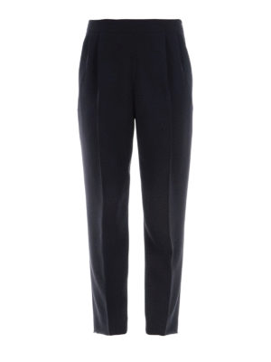 Max Mara: casual trousers - Amici cady cropped trousers