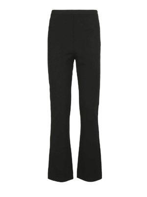 Max Mara: pantaloni casual - Pantaloni Calerno in viscosa crepe