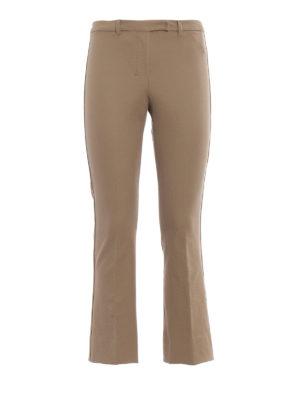 Max Mara: pantaloni casual - Pantaloni stretch beige Fatina