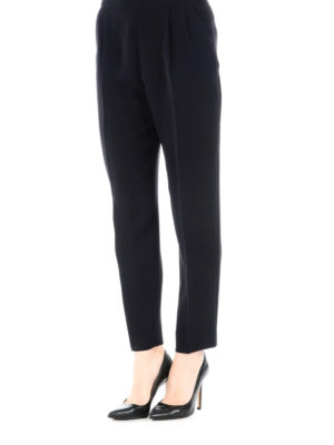 Max Mara: casual trousers online - Amici cady cropped trousers