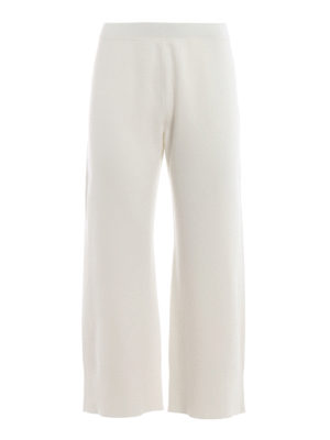 Max Mara: casual trousers - Spigola white trousers