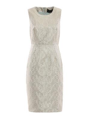 Max Mara: cocktail dresses - Accento brocade dress