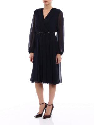 Max Mara: cocktail dresses online - Zeda silk chiffon dress