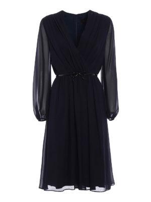 Max Mara: cocktail dresses - Zeda silk chiffon dress