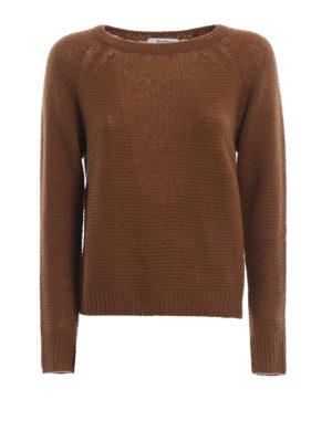 Max Mara: maglia collo rotondo - Impalpabile girocollo Urali in cashmere seta