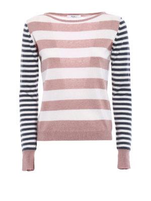 Max Mara: crew necks - Marica silk and cashmere sweater