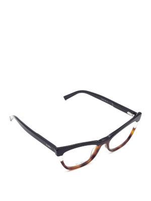 Max Mara: glasses - Havana detailed optical glasses