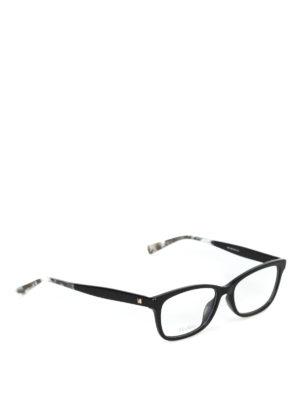 Max Mara: Occhiali - Occhiali da vista con terminali marmorizzati