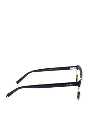Max Mara: glasses online - Havana detailed optical glasses
