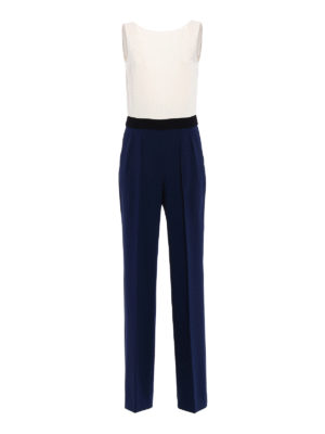 Max Mara: jumpsuits - Judy colour block jumpsuit