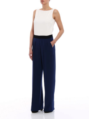 Max Mara: jumpsuits online - Judy colour block jumpsuit