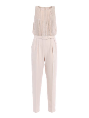 Max Mara: jumpsuits - Tina powder jumpsuit