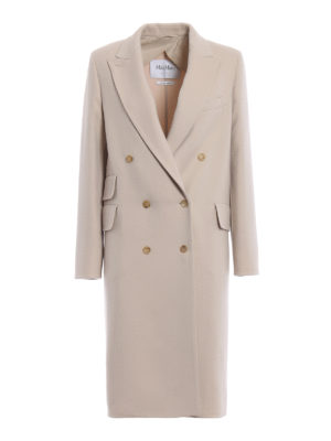 Max Mara: knee length coats - Armonia wool and cashmere coat
