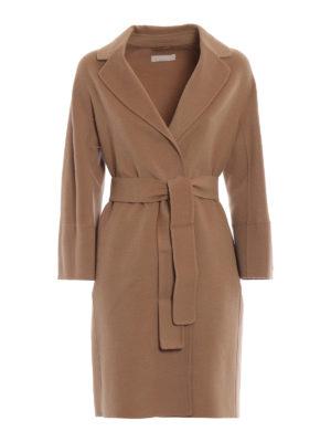 Max Mara: cappotti al ginocchio - Cappotto Arona in pura lana vergine cammello
