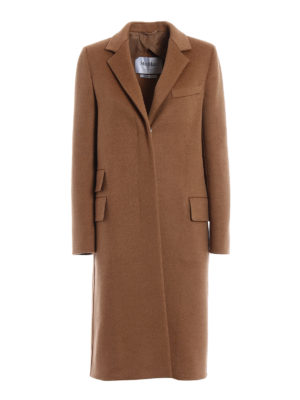 Max Mara: knee length coats - Aureo camel coat