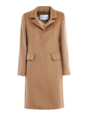 Max Mara: knee length coats - Austero camel coat