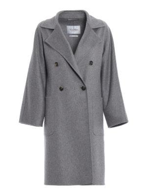 Max Mara: cappotti al ginocchio - Cappotto Faust in cashmere melange