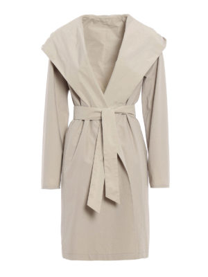 Max Mara: knee length coats - Lega reversible raincoat