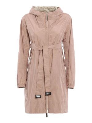 Max Mara: knee length coats - Lighte reversible raincoat