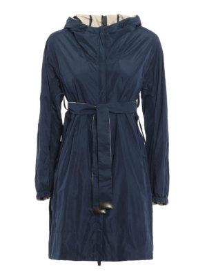 Max Mara: knee length coats - Lightri reversible raincoat