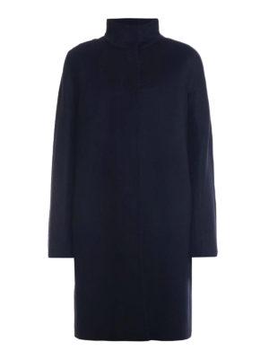 Max Mara: cappotti al ginocchio - Cappotto Melina in pura lana nera