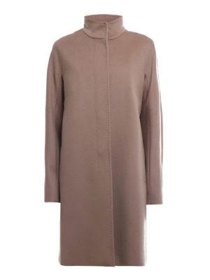 Max Mara: cappotti al ginocchio - Cappotto Melina in pura lana color cammello