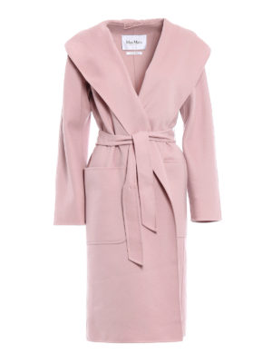 Max Mara: knee length coats - Mozart wool and cashmere coat