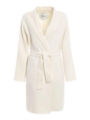 Max Mara: knee length coats - Nancy double wool coat