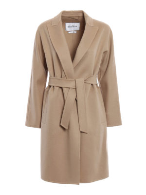 Max Mara: knee length coats - Nancy double wool coat