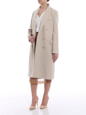 Max Mara: knee length coats online - Armonia wool and cashmere coat