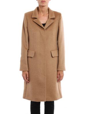 Max Mara: knee length coats online - Austero camel coat