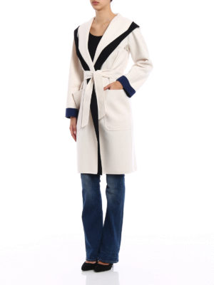 Max Mara: knee length coats online - Danzica wool and cashmere coat