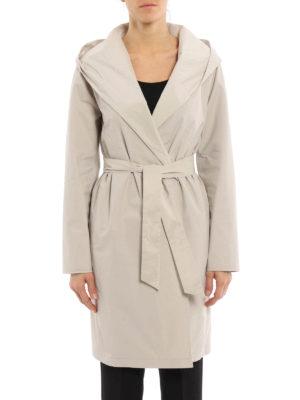 Max Mara: knee length coats online - Lega reversible raincoat