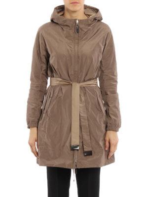 Max Mara: knee length coats online - Lighte reversible raincoat