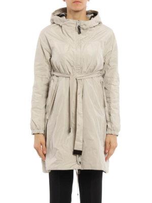Max Mara: knee length coats online - Lightri reversible raincoat