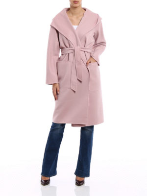 Max Mara: knee length coats online - Mozart wool and cashmere coat