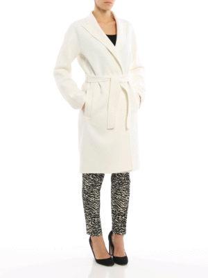 Max Mara: knee length coats online - Nancy double wool coat