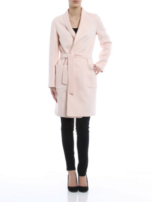 Max Mara: knee length coats online - Saul coat