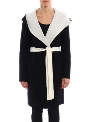 Max Mara: knee length coats online - Verbano reversible coat