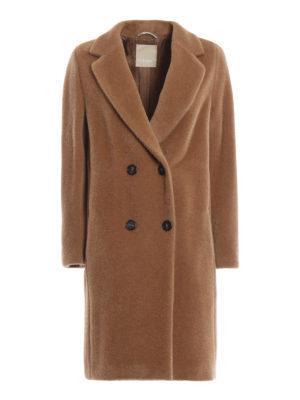 Max Mara: cappotti al ginocchio - Cappotto Rose in misto alpaca color cammello